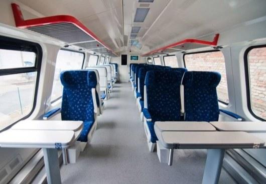 Двухэтажный поезд снова возит харьковчан встолицу